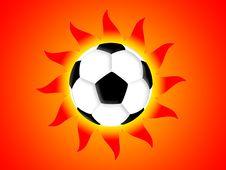 Free Football Sun Stock Photography - 4798172