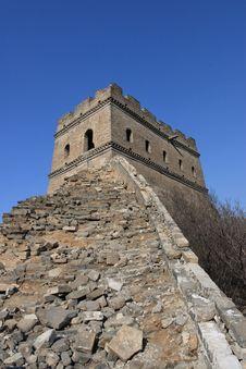 Free Great Wall Of China Ruins Royalty Free Stock Photos - 4798358