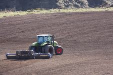 Free Ploughing The Field Royalty Free Stock Photos - 4798378