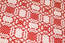 Free Red Tablecloth Royalty Free Stock Images - 4798419