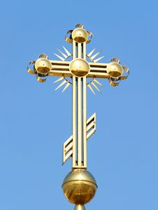 Free Gilded Cross Stock Photography - 4798742