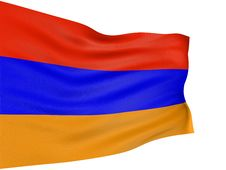 Free 3D Armenian Flag Royalty Free Stock Photos - 4798808
