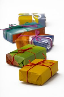 Free Presents Royalty Free Stock Photo - 4799265