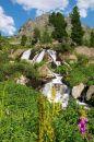 Free Small Waterfall-03 Royalty Free Stock Photos - 484648