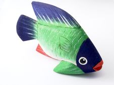 Free Wooden Fish Royalty Free Stock Photography - 481517