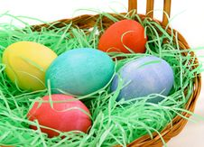 Free Basket Of Eggs Stock Image - 482141