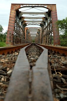 Free Old Train Bridge Stock Photography - 483762