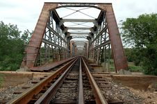 Free Old Train Bridge Stock Photos - 483763