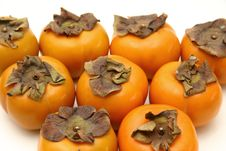 Free Persimmons Royalty Free Stock Photography - 484827