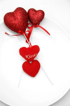 Free Hearts On A Plate Stock Images - 484844