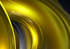 Free Golden Wire 01 Royalty Free Stock Images - 484849