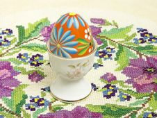Free Easter Breakfast Royalty Free Stock Photo - 485135
