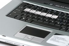 Free Laptop Keyboard Royalty Free Stock Photography - 485187