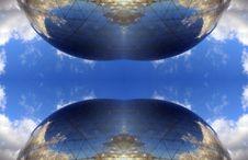 Free La Geode Paris Pattern Stock Image - 485341