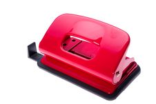 Free Red Hole Puncher Royalty Free Stock Photo - 485765