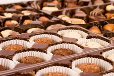 Free Chocs In Box Royalty Free Stock Photography - 486067