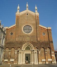 Free Frari Venice Stock Image - 487911