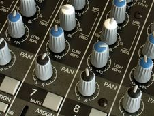 Free Sound Mixer Stock Photography - 487932