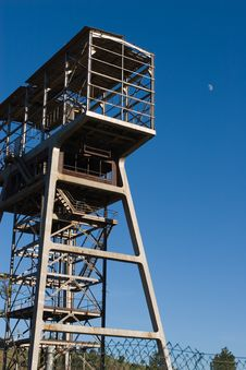 Free Old Mine Tower Royalty Free Stock Image - 489506