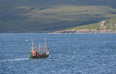 Free Fishing Ship Stock Image - 489571