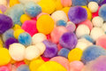 Free Colorful Cotton Balls Stock Photos - 4804543