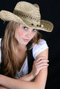 Free Model With Hat Stock Photography - 4805412