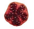 Free Fresh Isolated Pomegranate Royalty Free Stock Photos - 4805748