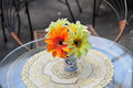 Free Beautiful Flower Vass In Table Royalty Free Stock Images - 4809759