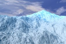 Free Icy Mountain Top Stock Images - 4800324
