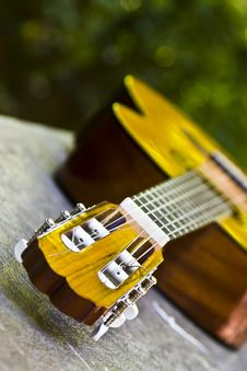 Free Guitar In Perspective Stock Image - 4800491