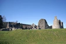 The Ruins Of Kildrummy Castle Stock Images