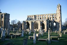 Free Elgin Cathedral Ruins Royalty Free Stock Photo - 4800625