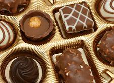 Free Assorted Chocolates Royalty Free Stock Image - 4801006