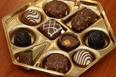 Free Assorted Chocolates Stock Photos - 4801033