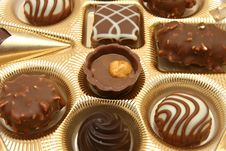 Free Assorted Chocolates Stock Image - 4801091