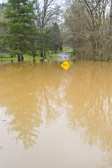 Free Flood High Water Royalty Free Stock Image - 4803146