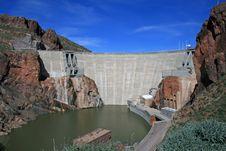 Roosevelt Dam Royalty Free Stock Photos