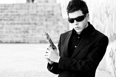 Free Secret Agent Ready Stock Images - 4803334