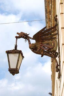 Free Metallic Bird Street Lamp Royalty Free Stock Images - 4803749