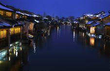 Free Night Scene In Wuzheng Stock Photos - 4804013