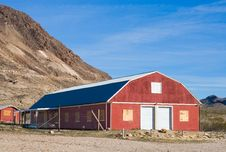 Free Red Barn Royalty Free Stock Photography - 4804417