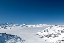 Free Snowy Alps Royalty Free Stock Photography - 4805657