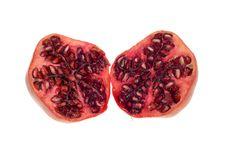 Free Fresh Isolated Pomegranate Royalty Free Stock Photos - 4805708