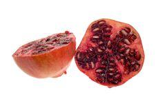 Free Fresh Isolated Pomegranate Stock Photography - 4805742