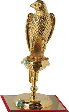 Golden Falcon Royalty Free Stock Photos