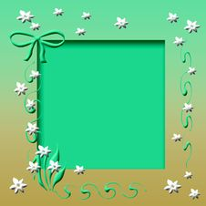 Free Spring Frame Royalty Free Stock Photography - 4806877
