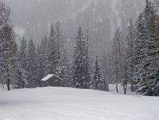 Free Italian Snowfall Stock Image - 4807261