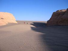 Free Yadan Landform And Deserts Stock Photo - 4807400