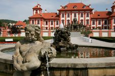 Free Baroque Manor House In Prague Royalty Free Stock Photo - 4807505