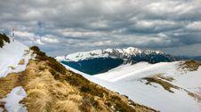 Carpathian: Ciucas Mountains Stock Photo